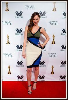 Sydne Style - Colorblock bandage dress