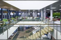 Nordea Campus refurbisment - Helin & Co Architects Office Buildings, Architects, Building Homes, Architecture