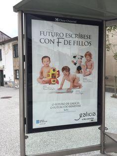 Publicidad natalidad Galicia