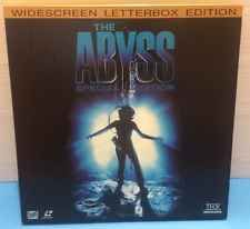 The ABYSS Special Edition Movie LaserDisc VideoDisc LETTERBOX Collector's Ed