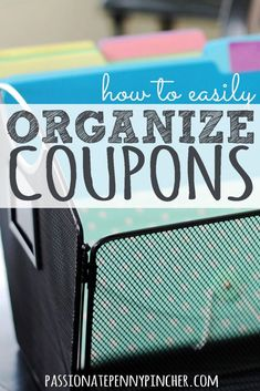 Easily Organize Coupons Frugal Living Ideas Frugal Living Tips Save Money On Groceries, Ways To Save Money, Money Tips, Money Saving Tips, Money Savers, Couponing For Beginners, Couponing 101, Extreme Couponing, Grocery Savings Tips