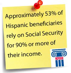 Approximately of Hispanic beneficiaries rely on Social Security for or more of their income. Social Security, Retirement, Did You Know, Money, Website, Live, Car, House, Automobile