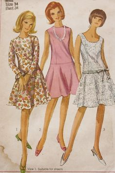 Vintage 1960s Simplicity 6539 Sewing by BluetreeSewingStudio, $8.00