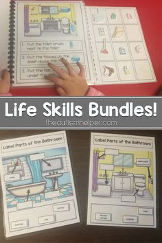We're sharing our Household & Community Editions of our Life Skills Bundles resource on the blog! From theautismhelper.com #theautismhelper