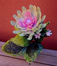 mario rivoli beaded flowers | Sold Pieces | Mario Rivoli