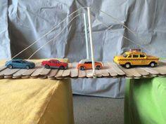 Another suspension bridge idea and STEM activities.