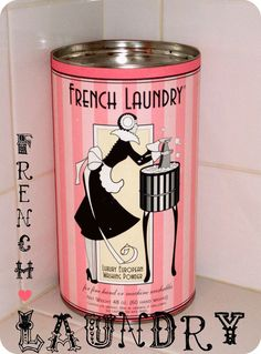 French Laundry luxury European washing powder