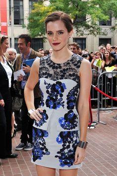 Emma Watson at the Toronto Film festival