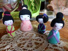 kokeshiamigurumi,crochet,uncinetto