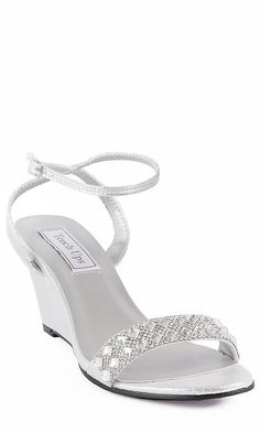 Shop PromGirl for prom shoes and prom accessories like Shoes for prom, prom jewelry, prom handbags, and accessories for special occasions. Gold Prom Shoes, Silver Dress Shoes, Satin Shoes, Strappy Shoes, Prom Heels, Silver Wedges, Prom Accessories, Manolo Blahnik Heels, Bridesmaid Shoes