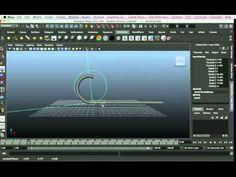 Non Linear Bend Deformer Maya tutorial. - YouTube