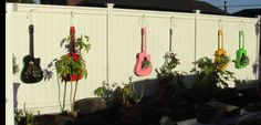 COOL!  We have a so many musical instruments that are not playable, an orchestra of musical planters...