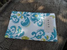 Teal Lily Reusable Snack Bag by MamaandNonni on Etsy, $3.00