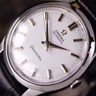 Authentic Omega Seamaster White Dial Stainless Steel Automatic Mens Wrist Watch