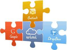 Wimi, partage de documents et gestion de projet en ligne.