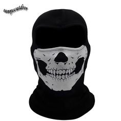 ghost skull hood, ghost skull mask, Tactical Camouflage hood, Tactical Camouflage mask-Product Center-Sunnysoutdoor Co., LTD-