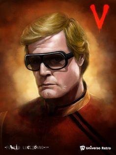 Martin (Frank Ashmore), Painted for the tribute cards of Universo Retro here in… V Tv Show, 80s Shows, V Collection, Sci Fi Fantasy, The Visitors, A Decade, Horror Art, Over The Years, Science Fiction