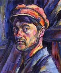 Ilmari Aalto ~ Self-Portrait, 1922
