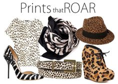 """""""Animal print pants out'control""""   but seriously...some animal print pieces Im dying to own"""