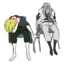 Hetalia 2p Cananda---> I don't even know what this is but it looks really sad... <<-- Canada and Prussia