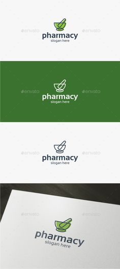 Pharmacy  Logo Template — Vector EPS #drugstore #bio • Available here → https://graphicriver.net/item/pharmacy-logo-template/15110163?ref=pxcr