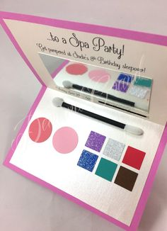 Hey, I found this really awesome Etsy listing at https://www.etsy.com/listing/239358611/spa-party-invitation-party-with-makeup