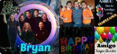 Felicidades Bryan