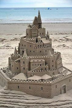 Things to do this #summer - build a sand castle