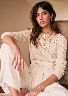 Last Chance printemps Mode Boho, Trends, Mode Inspiration, Parisian Style, Cotton Sweater, Knitwear, Cute Outfits, Feminine, Street Style