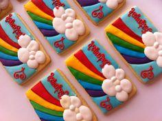Rainbow cookies :)