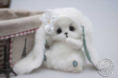 Susie bunny make to order teddy bunny bunny the by teddiktoys