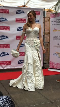 OK, These Toilet Paper Wedding Dresses Are Actually, Like, Really Pretty