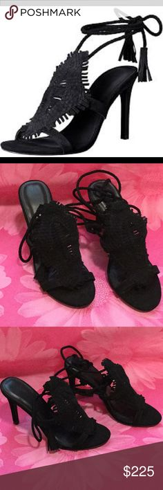 "New in Box!  Joie Ady Sandals Black Joie Sandals. Heel approximately 4"". Available in size 6.5 and 9.5. Joie Shoes Heels"