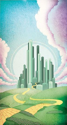 The Emerald City (The Wizard of Oz) by One Horse Town, via Flickr