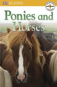 DK Readers: Ponies and Horses book cover