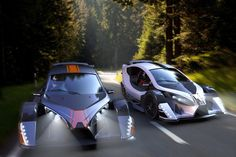 carro auto The Strike Trike by Design+Industry Pictures