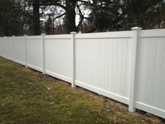 Vinyl Privacy Fencing