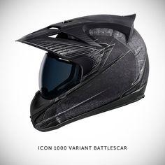 Icon 1000 motorcycle helmet