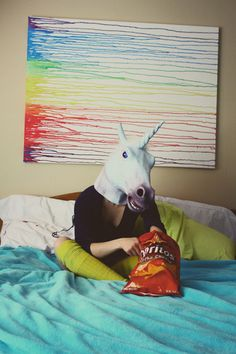 """Now I can enjoy the outside world again thanks to the Magical Unicorn mask"" - customer review, Amazon.com"