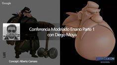 Conferencia Modelado 3D Enano parte 1 PIXELODEON 3D School