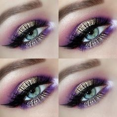 Gemily Barbon Makeup: How to apply purple eyeshadow