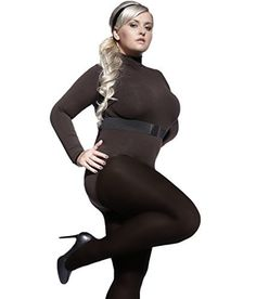 New Trending Pants: Plus Size Plain Tights Perla 40 Denier With Special Comfortable Gusset XL-4XL by Adrian,Black,7-XXXL. Plus Size Plain Tights Perla 40 Denier With Special Comfortable Gusset XL-4XL by Adrian,Black,7-XXXL  Special Offer: $6.99  133 Reviews This collection, created for women with round shapes, wishing to feel at ease and sensually every day. We went out to the needs of our customers and...