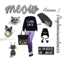 Ariana :), created by peytonsweetness on Polyvore