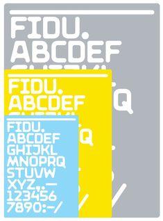FiDU alphabet by ZIETA