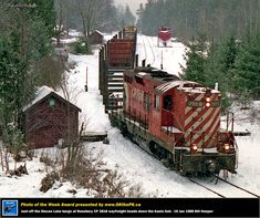 Net Photo: CP 8812 Canadian Pacific Railway EMD at Rosebery, British Columbia, Canada by Bill Hooper Train Car, Train Tracks, Locomotive, Northern Rail, Canadian Pacific Railway, Railroad Pictures, Railroad History, Train Times, Old Trains