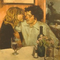 """In water one sees one's own face; but in wine one beholds the heart of another."" - French Proverb  Joseph Lorusso 1966 