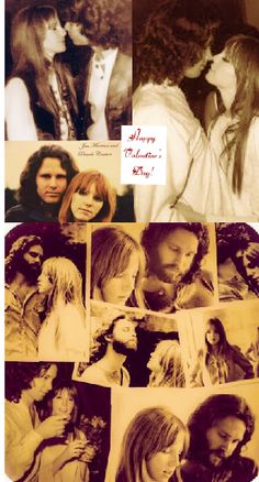 """Jim Morrison and his common-law wife, muse, """"cosmic mate"""" and, in Jim's own words, his """"only companion in life"""" Pamela Courson, Jim Morison, Back Door Man, Jim Pam, Connection Quotes, The Doors Jim Morrison, American Poets, Morrisons, Janis Joplin"""