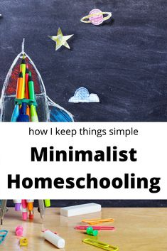 Minimalism is not an end goal. It's a way of life. And we implement it into all areas of our lives including homeschooling. Here is how I keep things simple with minimal waste in our homeschool routine.