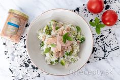 Fit brokolicové rizoto s tuniakom Tofu, Potato Salad, Smoothie, Potatoes, Healthy Lunches, Ethnic Recipes, Fitness, Recipes, Diet
