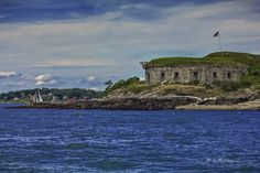 Fort Scammell on House Island - Saco River Art & Photography